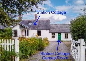 Station Cottage  - Ystrad Meurig,