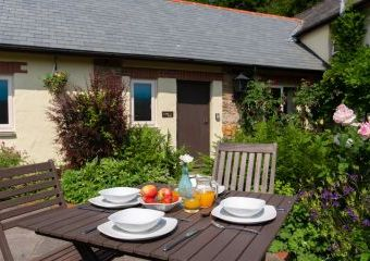 The Linhay at Wheel Farm Cottages  - Combe Martin,
