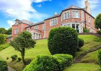 Telford House, Near Bangor, Anglesey, North Wales  - Menai straits,