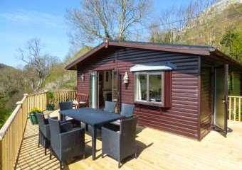 Springtime Log Cabin  - Rhyd y foel,