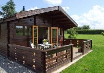 Crop Vale Lodge near the Malvern Hills and Cotswold Hills  - Pershore,