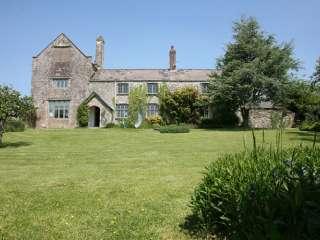 Ash Barton estate with pool