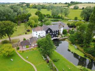 Mendham Mill - a fabulous holiday home over a river, Norfolk,  England