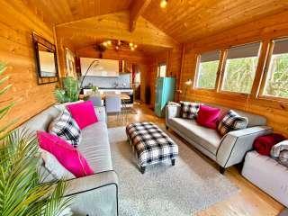 Yealm Cabin, Devon,  England