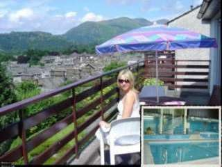 self catering cottage with use of pool in the Lake District