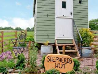 Shepherd's Hut in tranquil rural location
