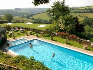 cottage with swimming pool Looe Cornwall