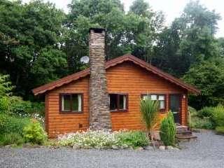 Milk Wood Lodge 5 Star Log Cabin, Gwynedd,  Wales