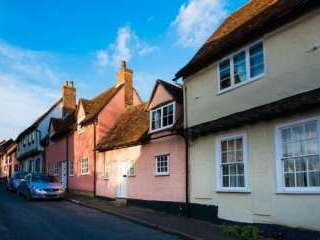 Picture perfect holiday cottage in historical Lavenham