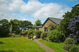 Garden Couple's Cottage, Devon,  England