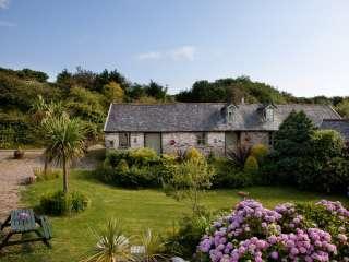 Aggies Cottage at Higher Mullacott Farm, Devon,  England