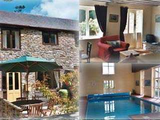 self-catering Colmer Estate Devon pool