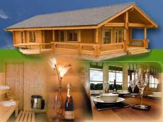 luxury log cabins borders scotland