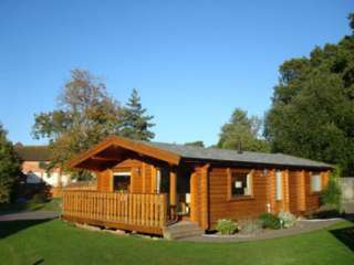 2 bedroom pine lodges, cosy with comfortable and attractive accessories