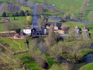 Mendham Mill from the air