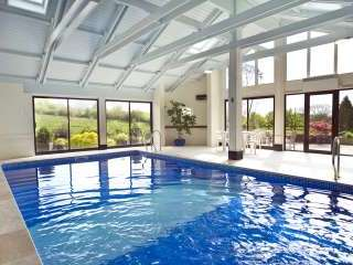 Indoor heated swimming pool and sauna, open every day