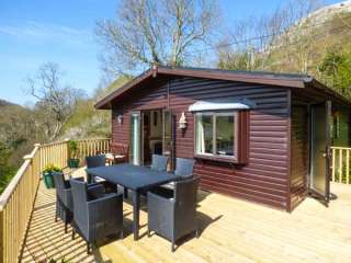 Springtime Log Cabin, Conwy,  Wales