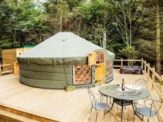 Rowan Holiday Yurt near the Peak District National Park, Yorkshire,  England