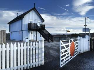 Signal Box Cottage in the Cairngorms, Highland,  Scotland