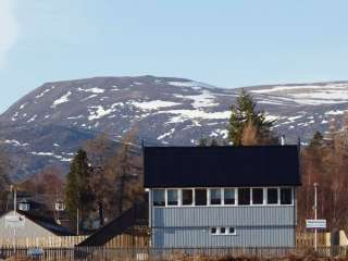 Signal Box Cottage in the Cairngorms