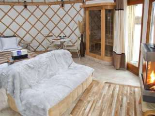 Island Yurt Glamping Holiday, Cotswolds