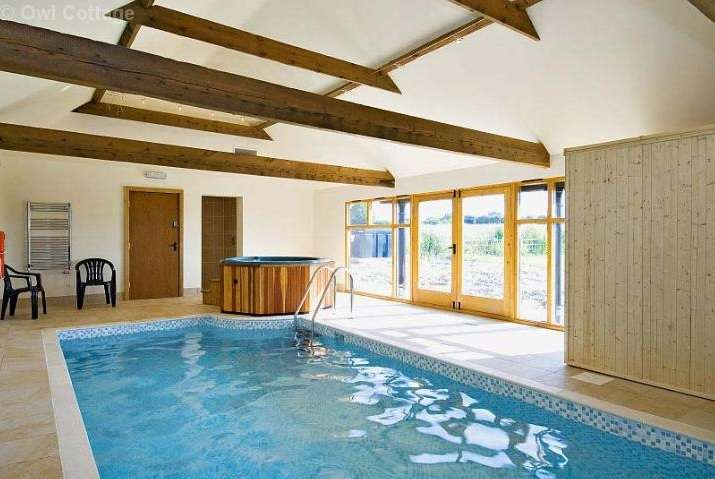 Perfect Self Catering Barn Conversion With Pool, Hot Tub And Sauna