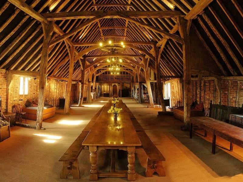 Tudor Barn Lavenham Suffolk East Anglia England