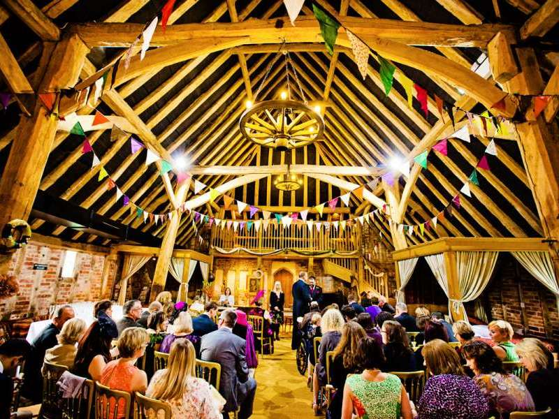 Humanist Ceremony In The Tudor Barn Feast And Dance