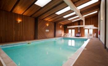 Heated Pool And Adjacent Indoor Play Area