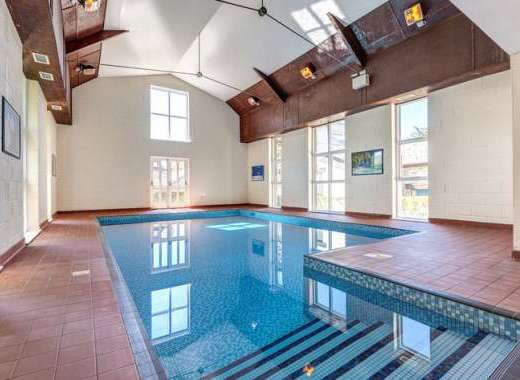 beautiful warm indoor pool