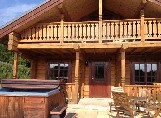 Bespoke log cabin with private hot tub