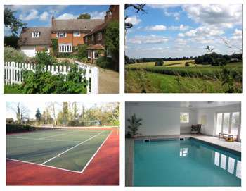 self-catering house with swimming pool tennis court and superb accommodation