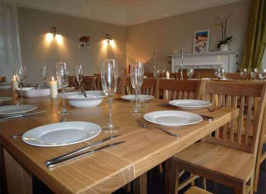 Group accommodation north Devon