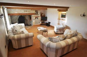 So much space for your group in this self-catering accommodation