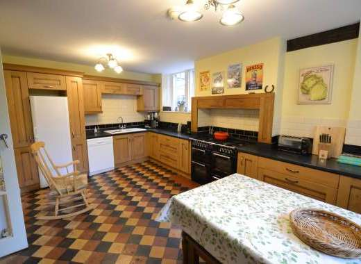 Large superbly equipped kitchen
