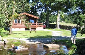 Self-catering log cabins in the Lake District