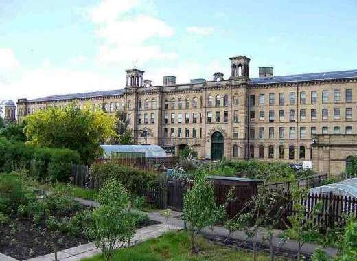 Saltaire Museum (Hockney Gallery) just 20 minutes away