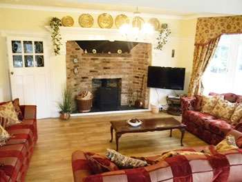 dog friendly large country house Denbighshire Wales