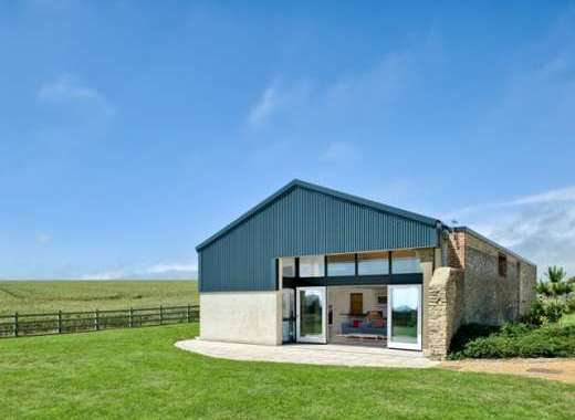 Architect-designed barn conversion with sea views