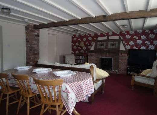 Granary Court Lounge Huge Flatscreen TV comfortable