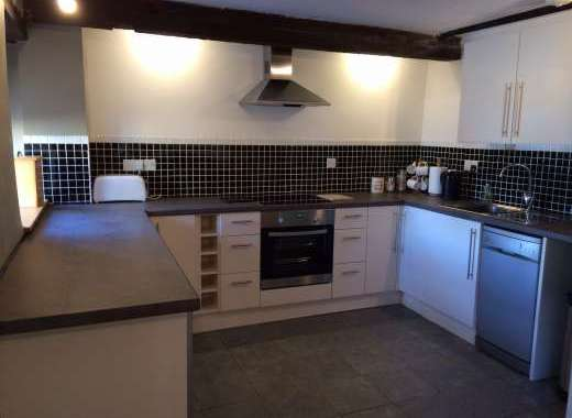 Well equipped kitchen at this 4star rated converted barn