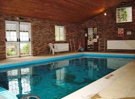 holiday home mid wales with swimming pool