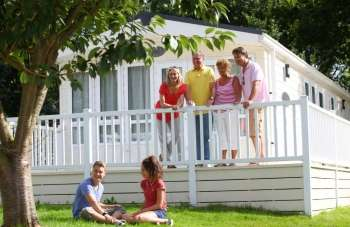 Self-catering lodge for families