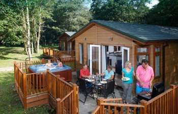 Self-catering lodge in Norfolk