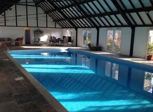 Large private swimming pool