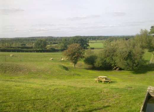 Stunning Countryside Views from Picnic Area