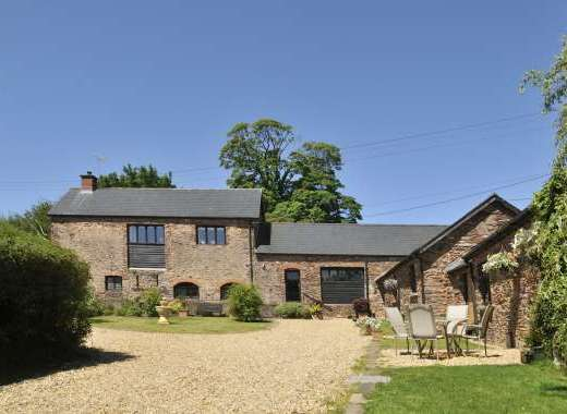 Two luxury barns on Exmoor