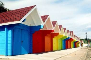 Rent a beach hut for a day