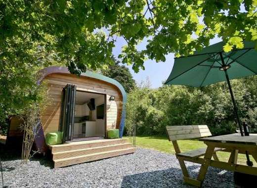 Sunridge Luxury Ecopod with Hot Tub