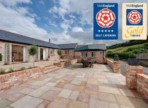 Langford Valley Barn 5 Star Gods Award luxury self catering in Dorset